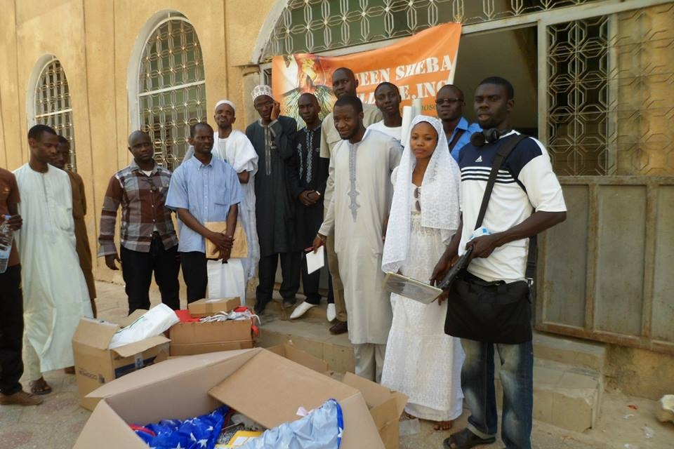 A health/education project held in Medina Baye Kaolack, Senegal with Queen Sheba volunteers.