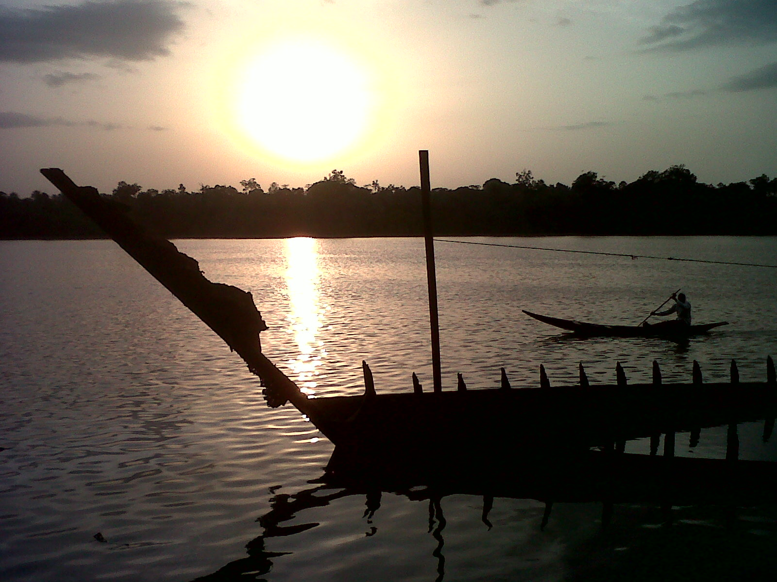 Bayelsa State, Nigeria Photo Credit:  Tea angelleo ,  Sunset In the Creek ,  CC BY-SA 4.0