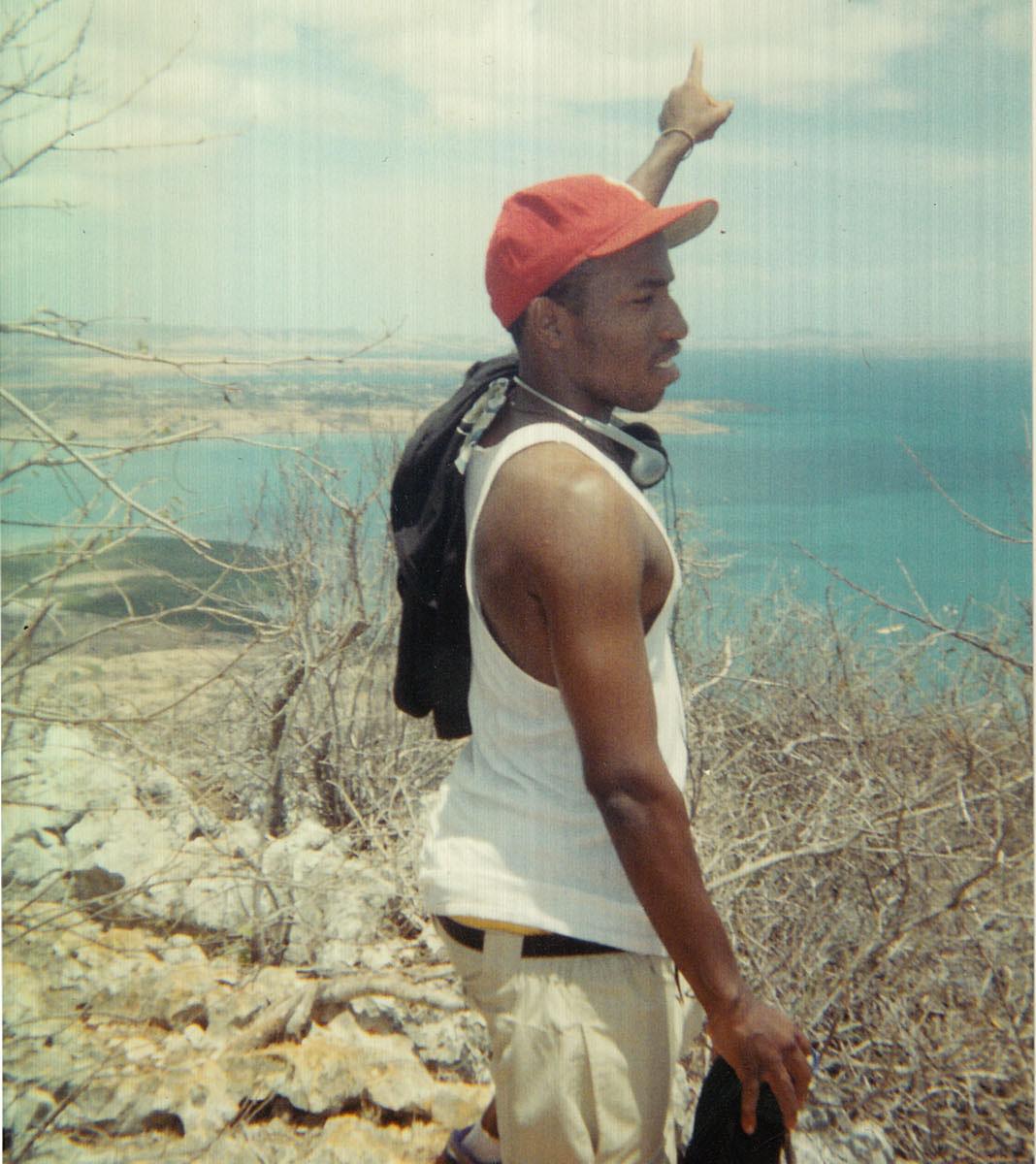 Jamal in Madagascar.