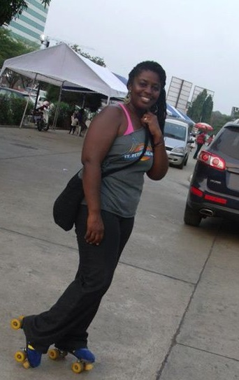 Fabulous and rollerskating in Ghana!