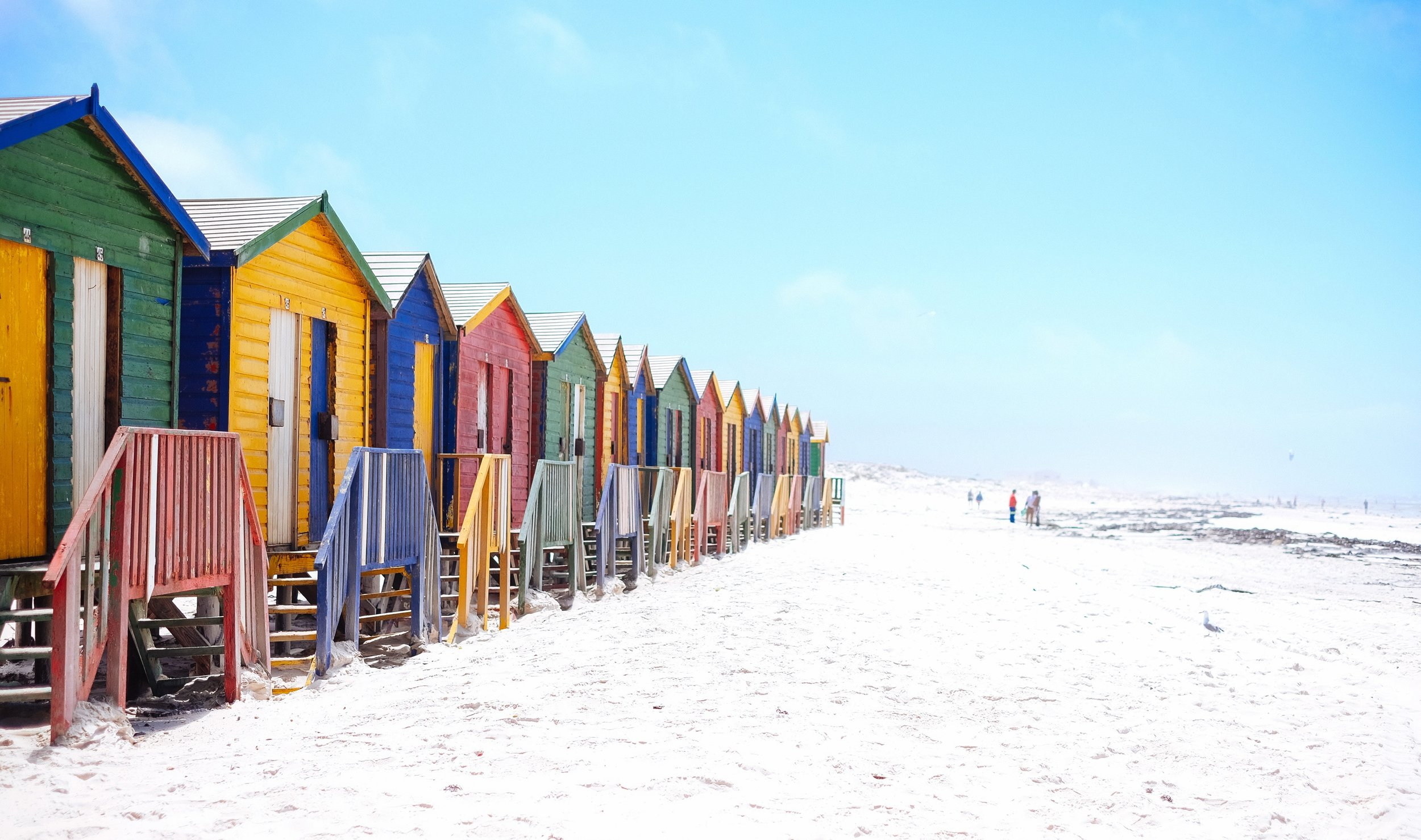 Don't be fooled by Cape Town's white sandy beaches. They can get  really  cold!