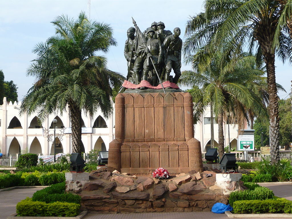 Monument to the Heroes of the Black Army, Bamako, Mali Credit:  Wikimedia Commons