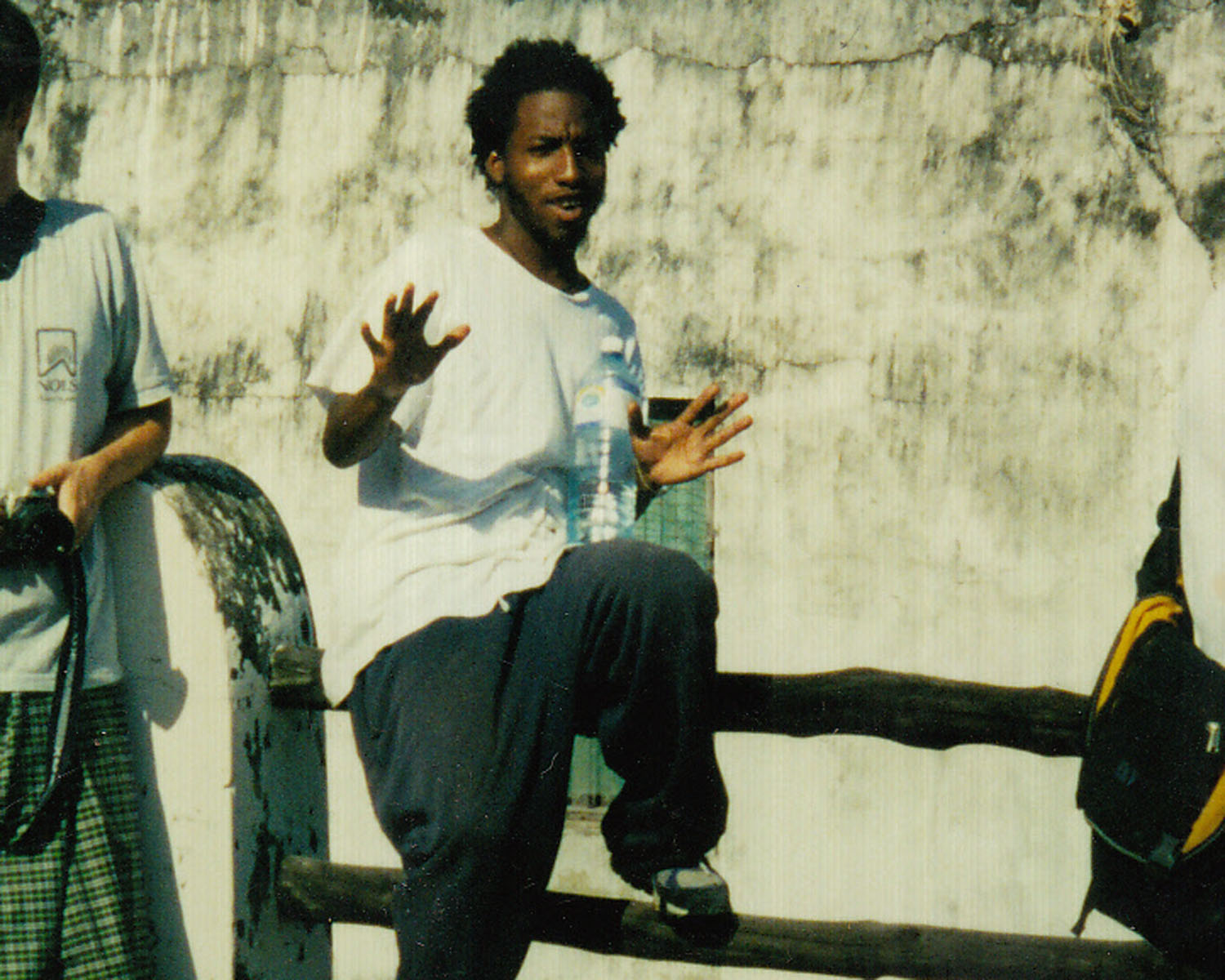 Jamal Bradley (pictured above) first moved to Kenya as a Peace Corps volunteer and eventually moved there permanently.