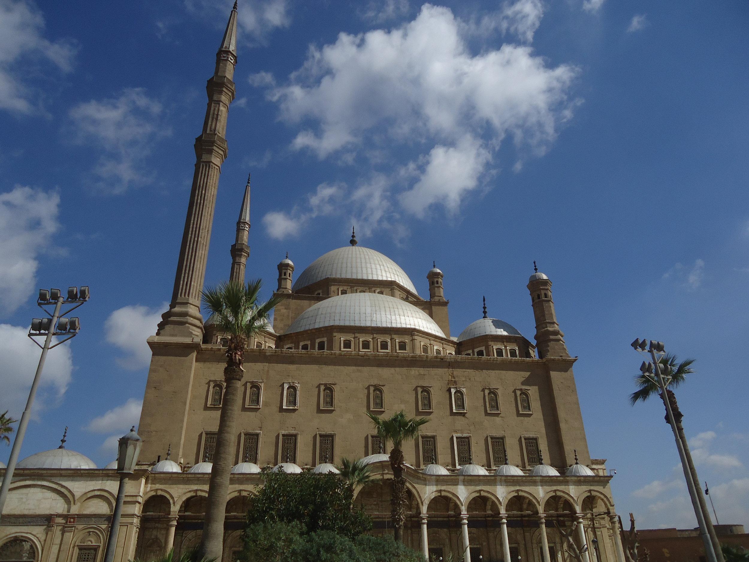The Saladin Citadel of Cairo.