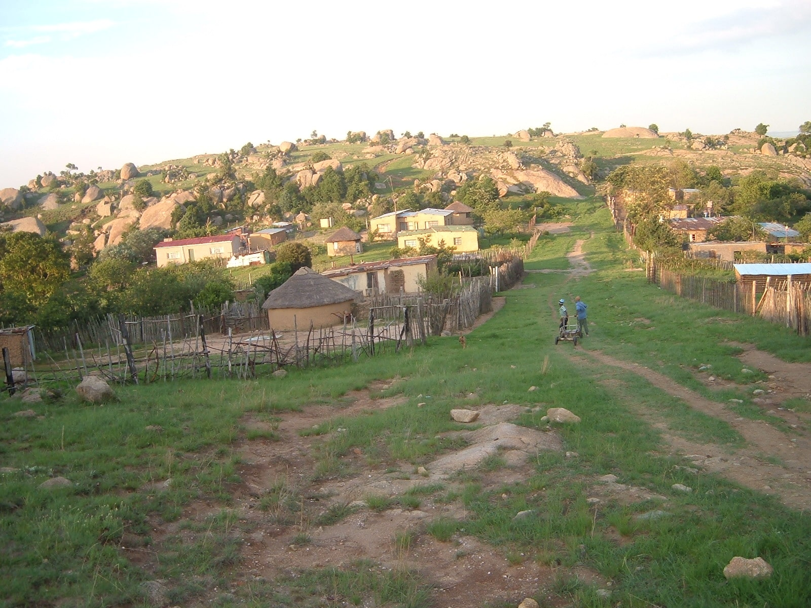 Diepdale, a village in Mpumalanga, South Africa.