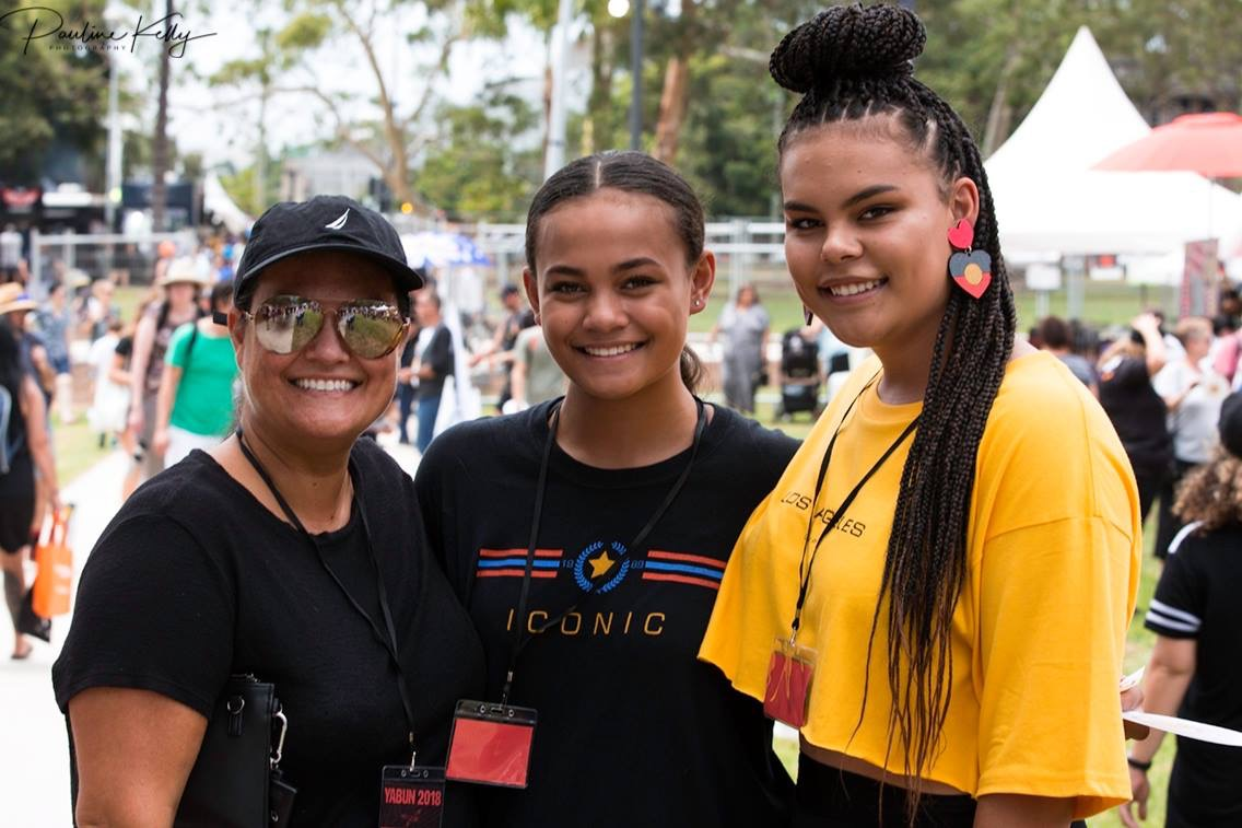 Kristy, Kiki and Mi-kaisha.Photo by Pauline Kelly.
