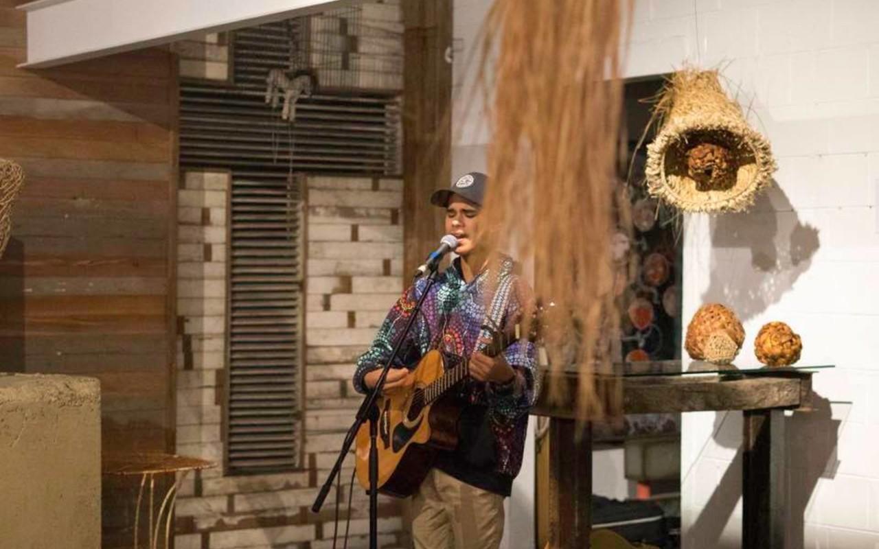 Budjerah Slabb performing at Sofar Gold Coast    Lowana Davies