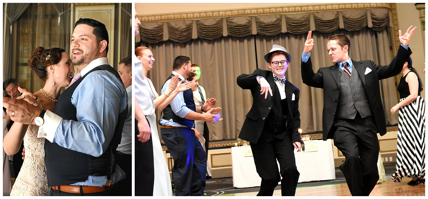 Guests Dancing | Intimate Wedding Photographer | Chateau de Frontenac | Quebec City Wedding Photographer | Farm Wedding Photographer | Apollo Fields Wedding Photojournalism