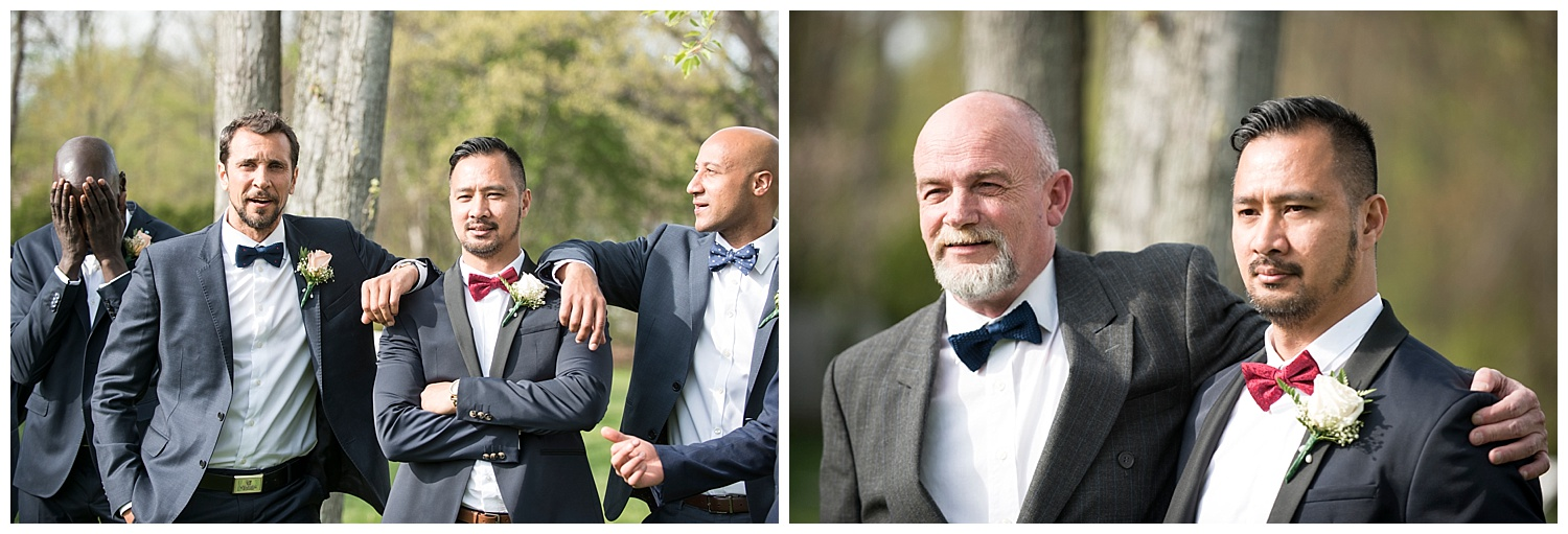 Groomsmen Photograph | Intimate Wedding Photographer | New York State Wedding Photographer | Farm Wedding Photographer | Apollo Fields Wedding Photojournalism