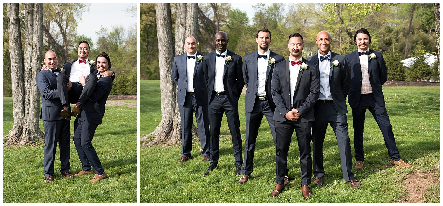 Classy Groomsmen Photographer | Intimate Wedding Photographer | New York State Wedding Photographer | Farm Wedding Photographer | Apollo Fields Wedding Photojournalism