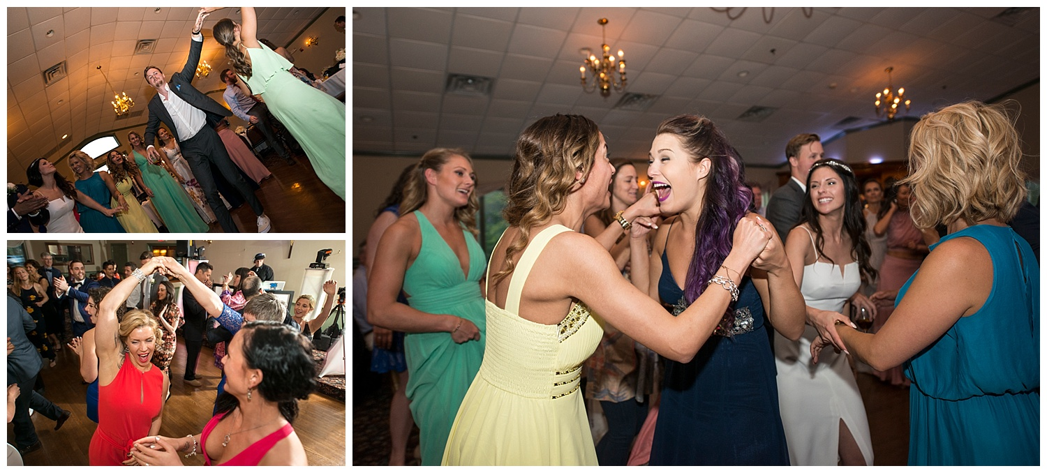 Party Guests Dancing | Intimate Wedding Photographer | New York State Wedding Photographer | Farm Wedding Photographer | Apollo Fields Wedding Photojournalism