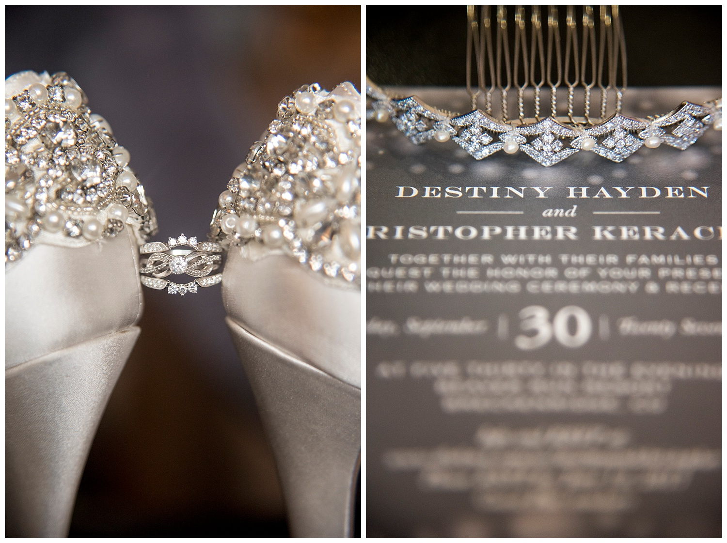 Detail Shot of Ring & Program | Chris & Destiny's Destination Wedding | Breckenridge Wedding Photographer | Colorado Farm Wedding Photographer | Apollo Fields Wedding Photojournalism