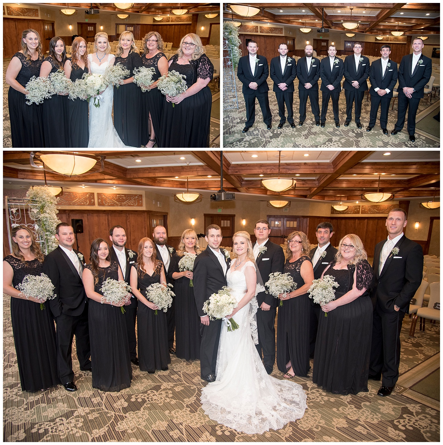 Classy Bridal Party Formals | Chris & Destiny's Destination Wedding | Breckenridge Wedding Photographer | Colorado Farm Wedding Photographer | Apollo Fields Wedding Photojournalism