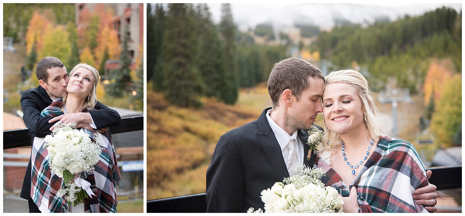 Ten Mile Station Bride and Groom | Chris & Destiny's Destination Wedding | Breckenridge Wedding Photographer | Colorado Farm Wedding Photographer | Apollo Fields Wedding Photojournalism