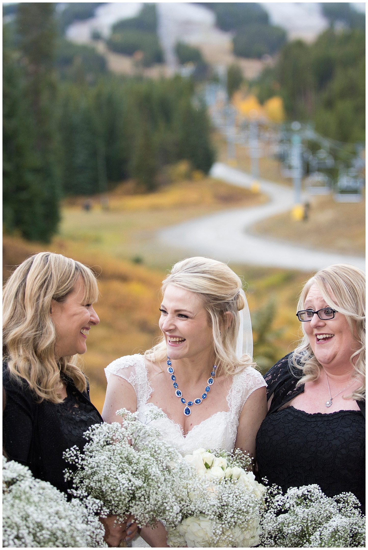 Ten Mile Station Bridal Party | Chris & Destiny's Destination Wedding | Breckenridge Wedding Photographer | Colorado Farm Wedding Photographer | Apollo Fields Wedding Photojournalism