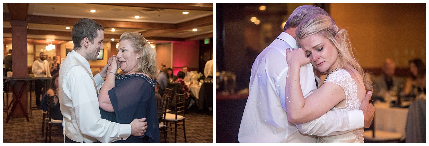 Bride and Groom Dancing with Parents | Chris & Destiny's Destination Wedding | Breckenridge Wedding Photographer | Colorado Farm Wedding Photographer | Apollo Fields Wedding Photojournalism