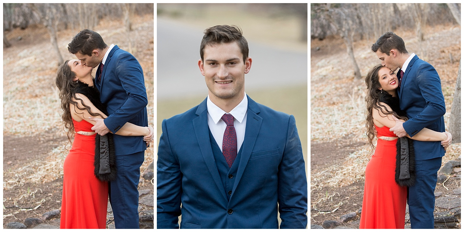 3 Pictures of Newly Engaged Couple| Nicholas and Eden's Surprise Proposal at Glen Eyrie Castle | Colorado Springs Photographer | Farm Wedding Photographer | Apollo Fields Wedding Photojournalism