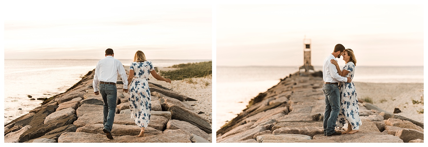 Apollo Fields Montauk Engagement Photos