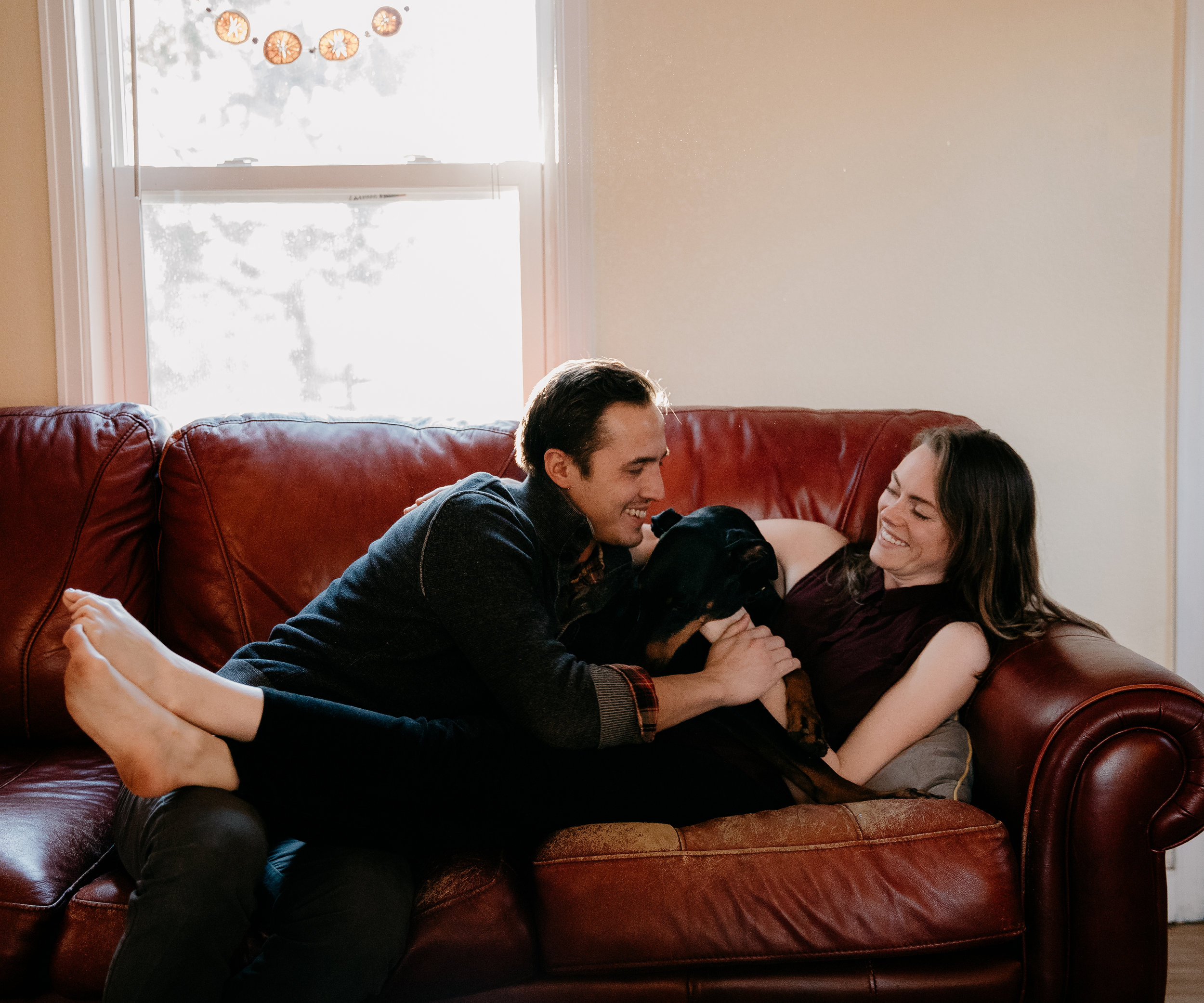 Hi! We're Terrence & Heather… - …we are the husband-and-wife duo of Apollo Fields! Thanks for checking out Bri & Tyler's engagement photos. We are so stoked to shoot their 2020 Wedding at Gosman's Dock in Montauk!