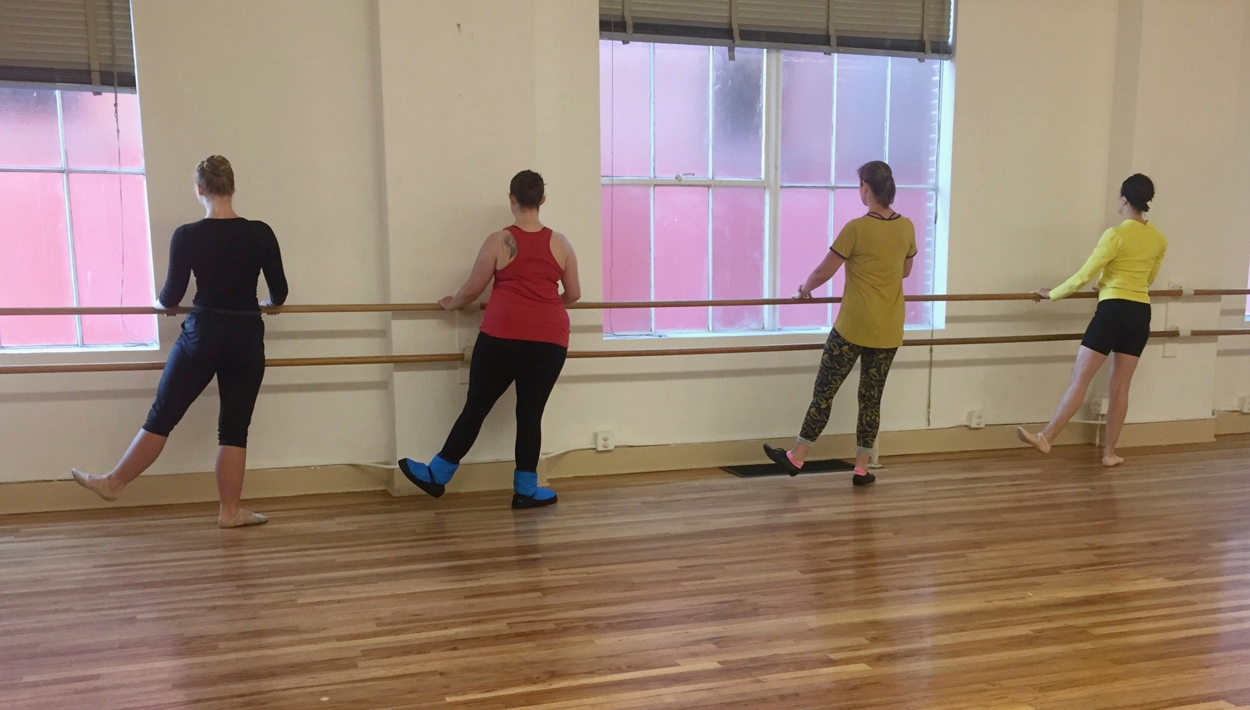 ADULT CLASSES   We offer Adult/Teen recreational classes in Ballet, Modern, and Tap! These classes are available to take as a drop-in or monthly and do not perform in our Recital.