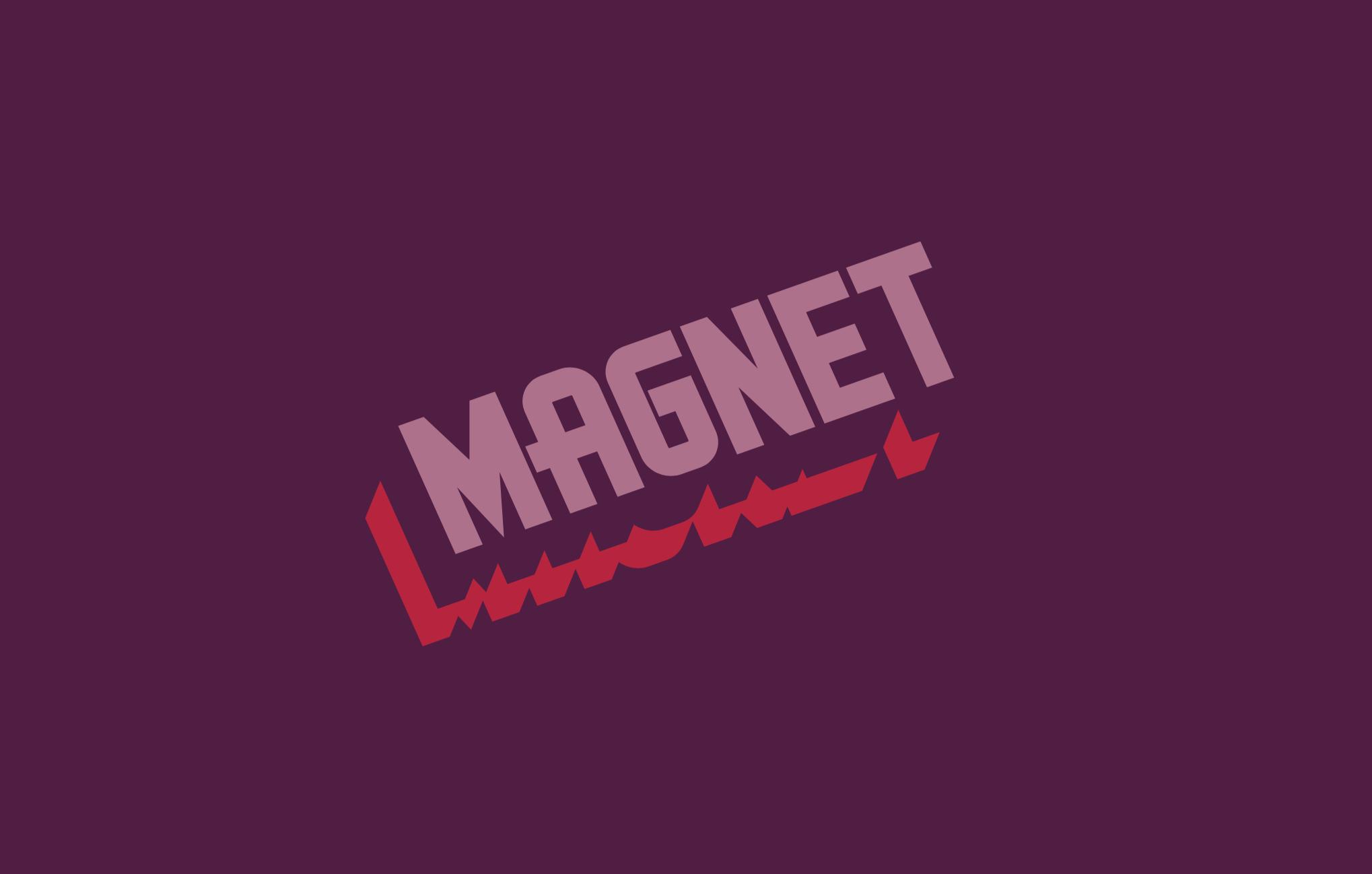 Magnet  Brand Identity, Typography