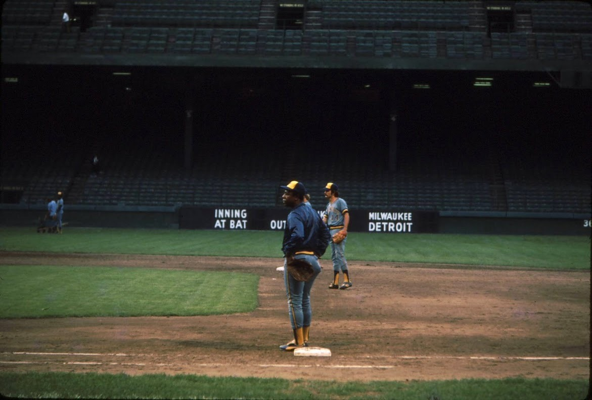 Hank Aaron at Tiger Stadium 1975.jpg