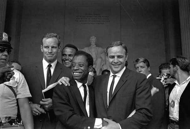 Charlton_Heston__Harry_Belafonte__James_Baldwin_and_Marlon_Brando_at_the_March_on_Washington.jpg