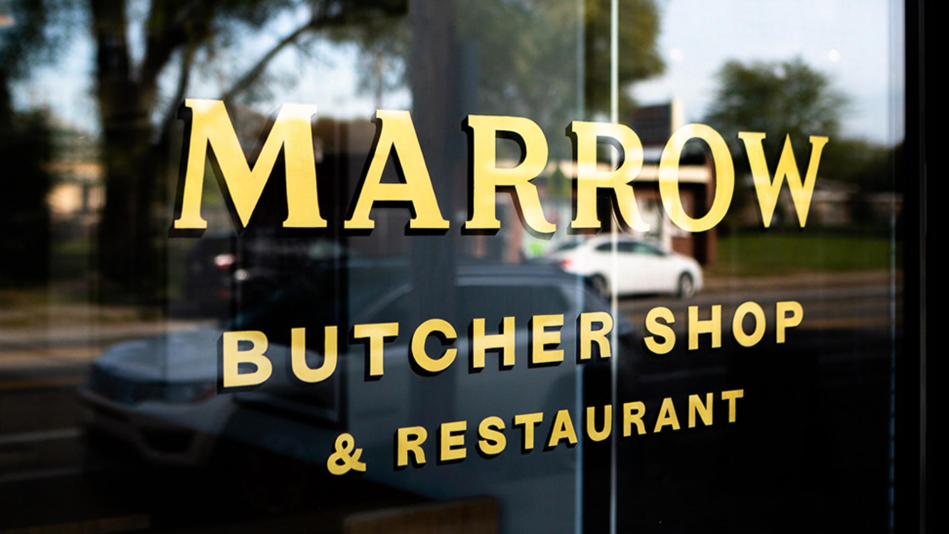 Marrow  Brand Identity, Custom Typography   View Project →