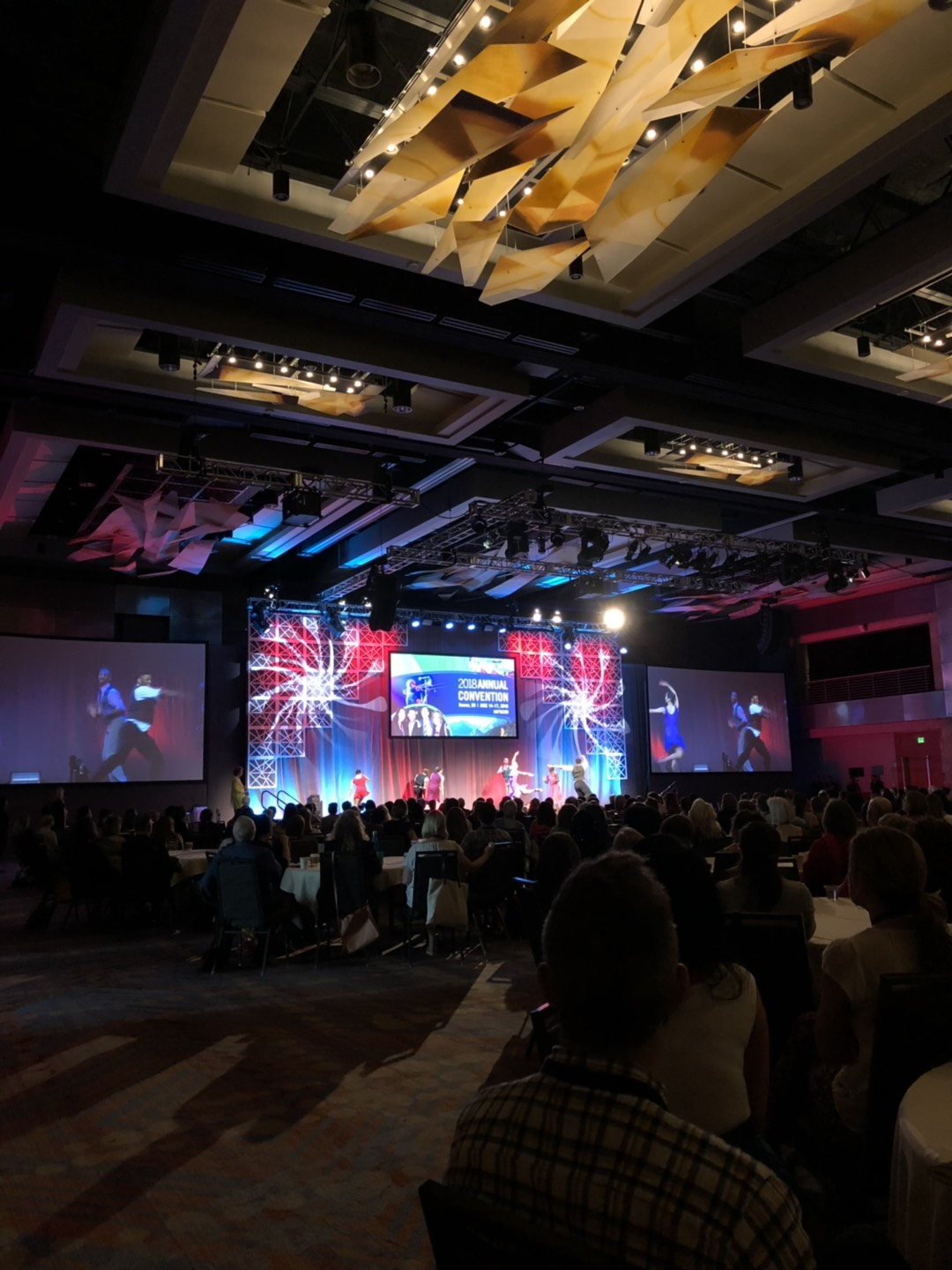 Exciting festivities happening at AFTACON. Photo by Megan Keogh, SmartSimple Business Analyst