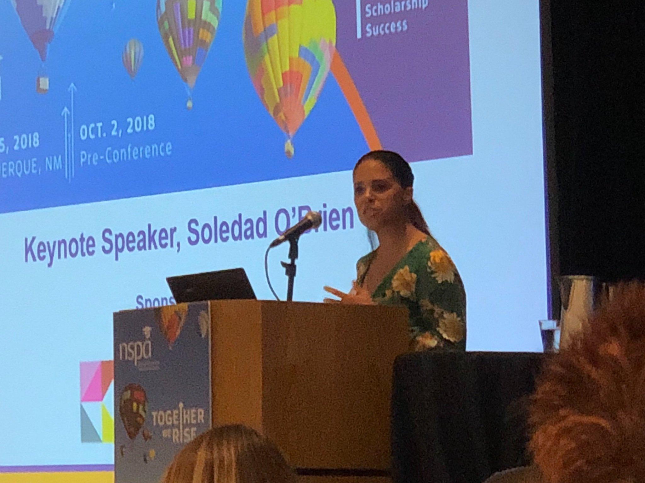 Soledad O'Brien. Photo by JoLynn Noe
