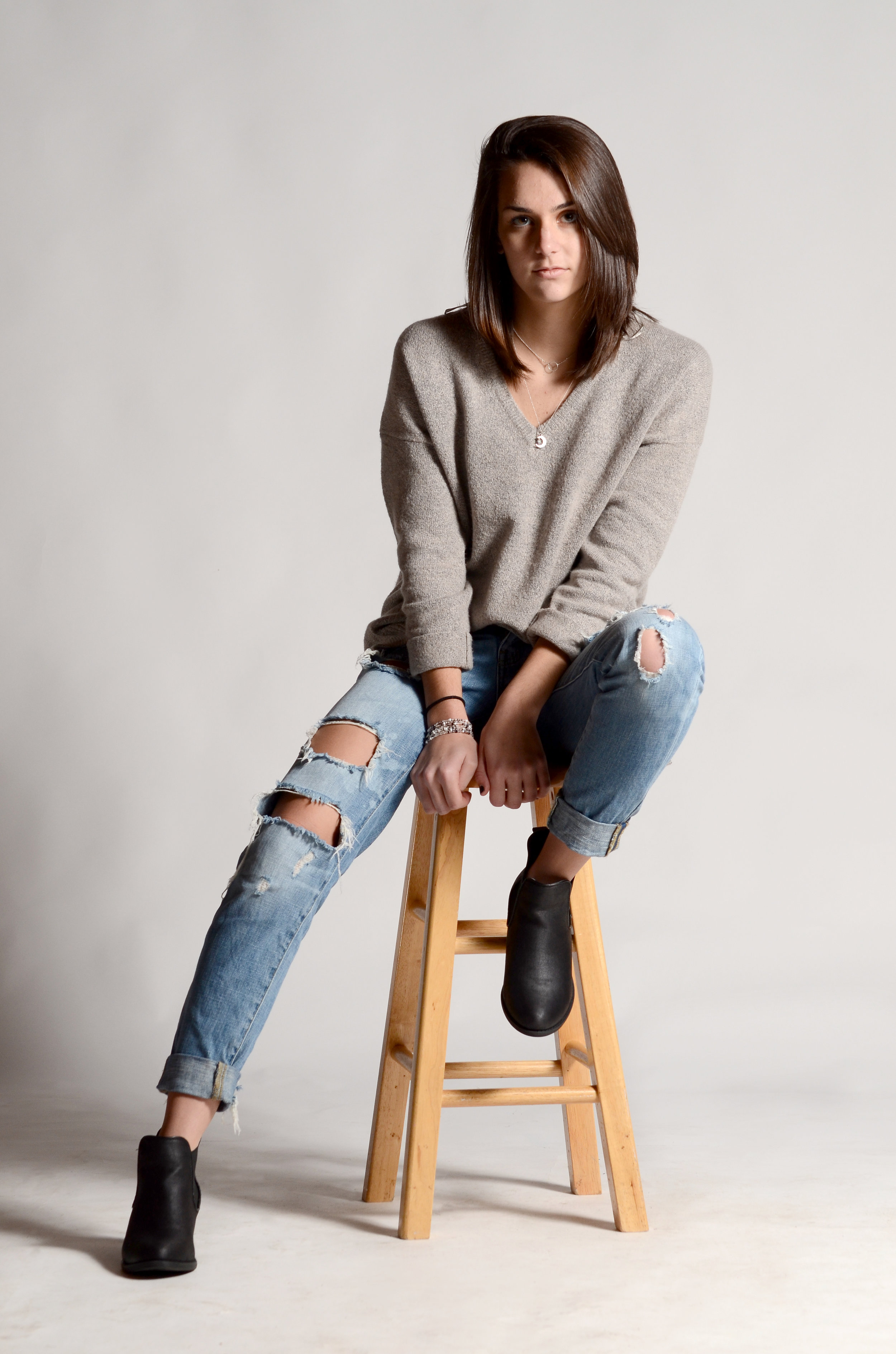 Paige in Studio