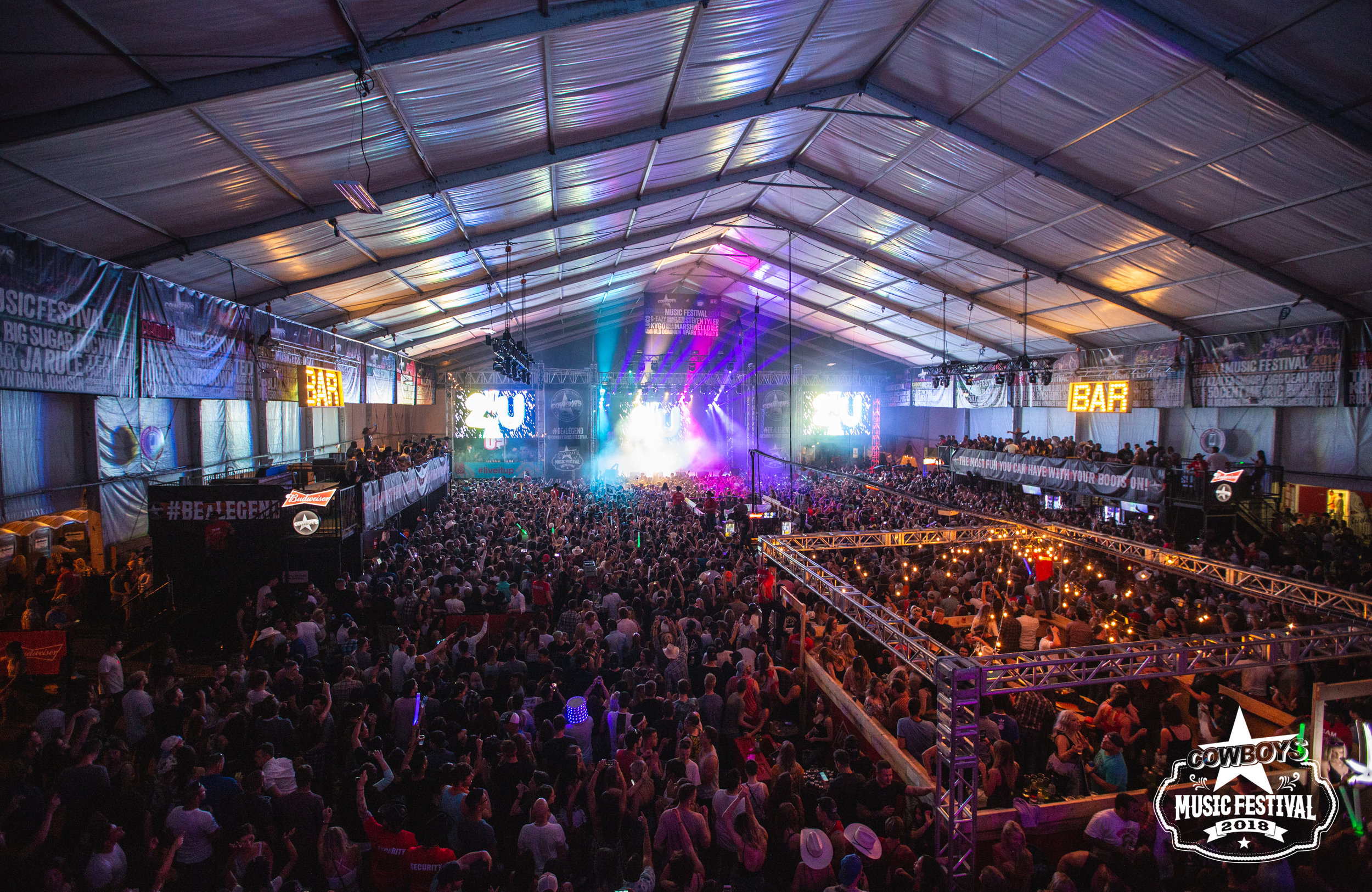 Cowboys Music Festival: Tent Venue