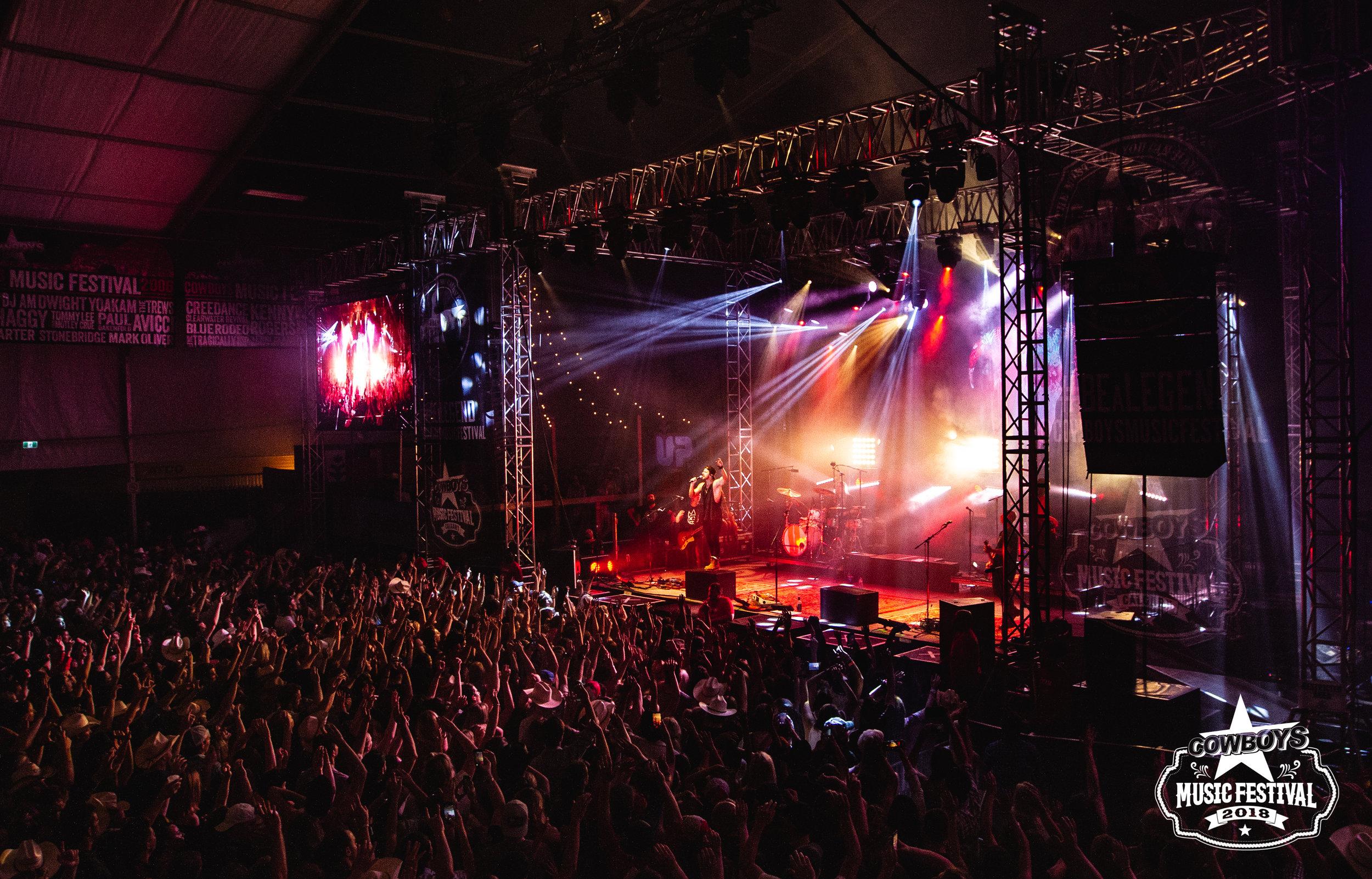 Cowboys Music Festival: Tent Venue