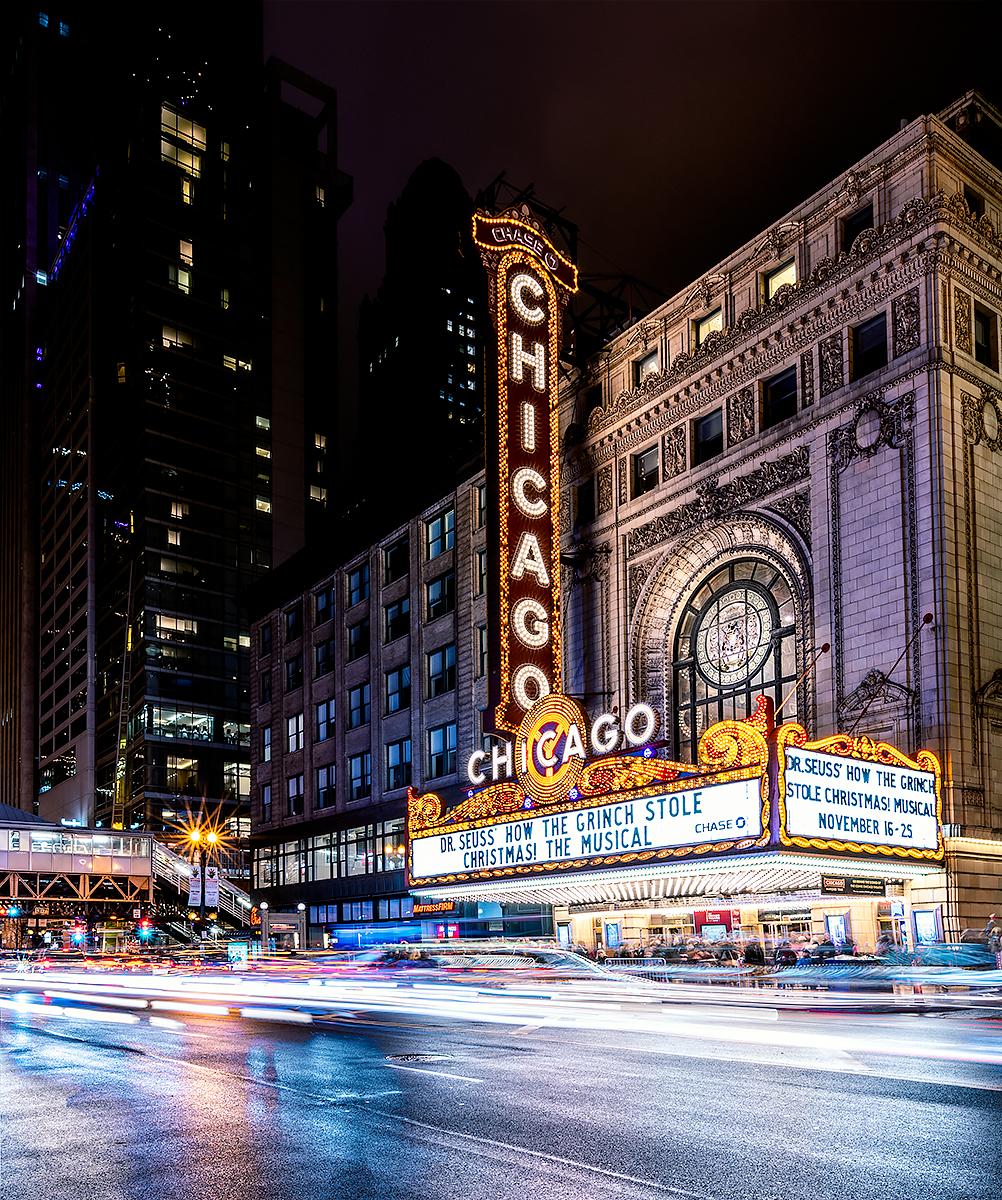 Chicago Theatre - Chicago, Illinois. @craigpittsphoto