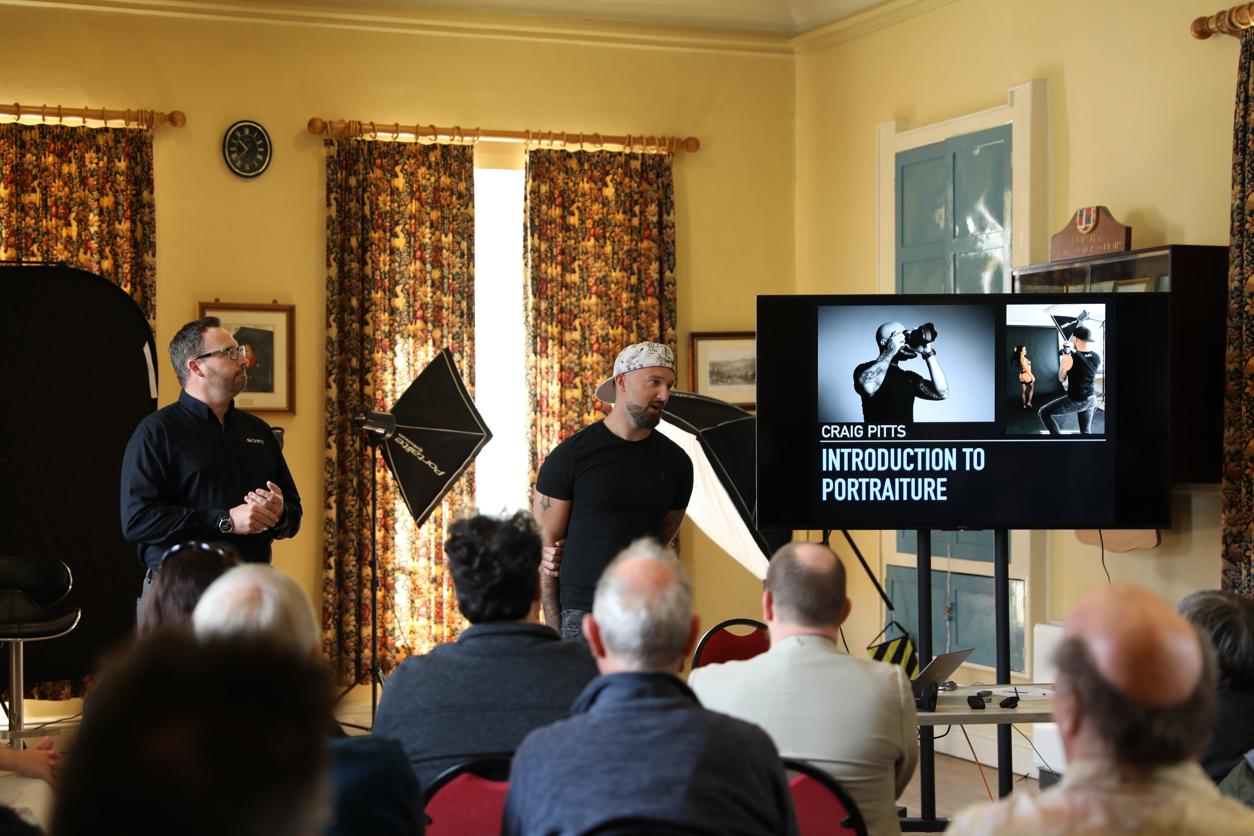 Introduction to Portraiture Workshop hosted by Clifton Cameras & Sony UK