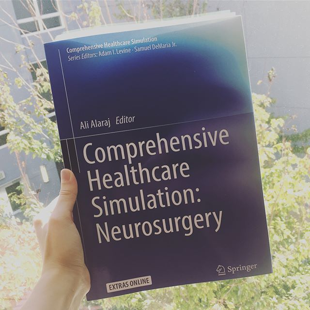 Contributing my thoughts on the future of visualization in neurosurgery - now in print! • • • #neurosurgery #neuro #healthcare #visualization #surgicalplanning #surgicaltraining #medicaleducation #medicalsimulation #textbook #uic