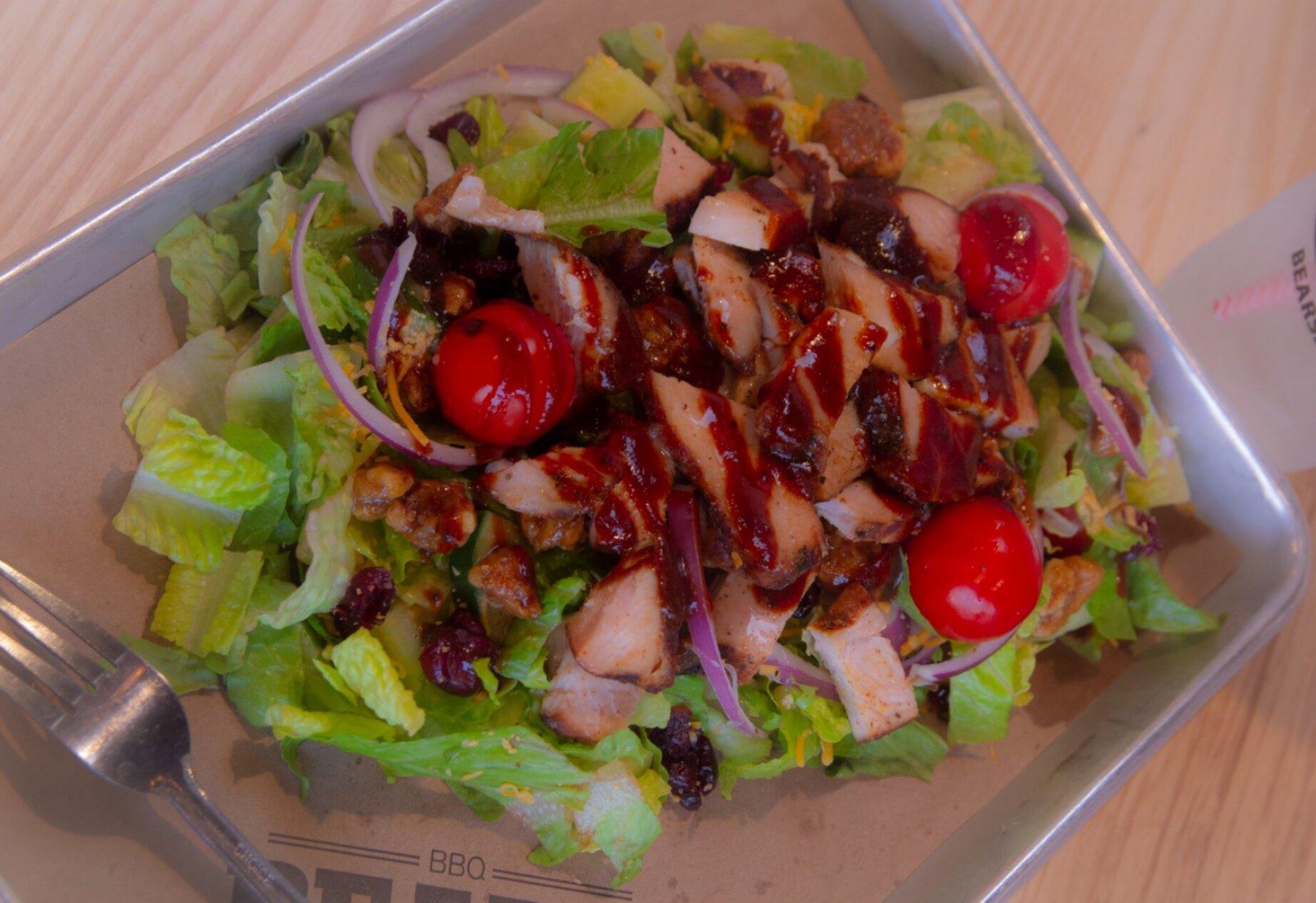 Sweet Mama Bear Salad with Turkey