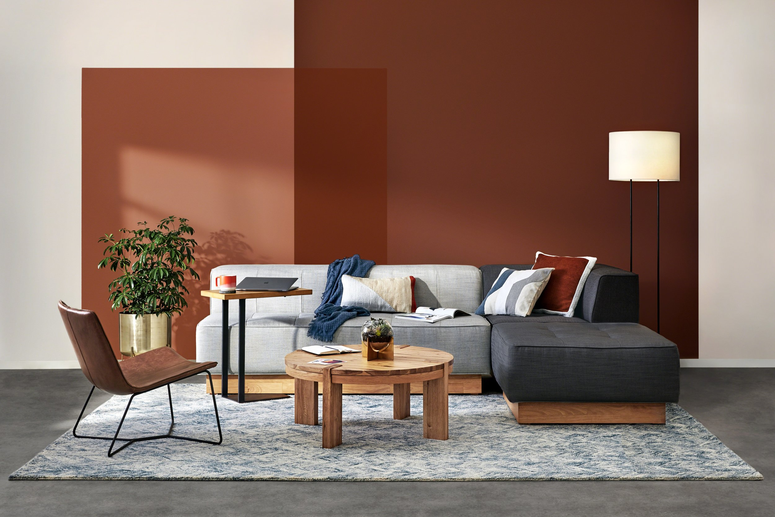 Styling + Art Direction for West Elm Work Collection Photographer: Jeremy Frechette