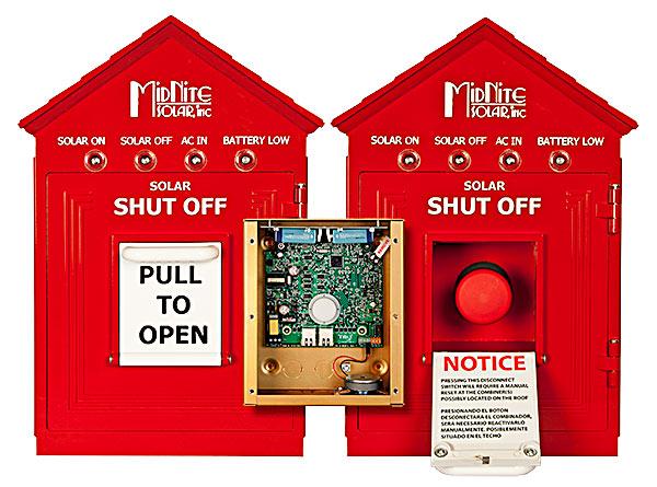 Rapid Shutdown Box