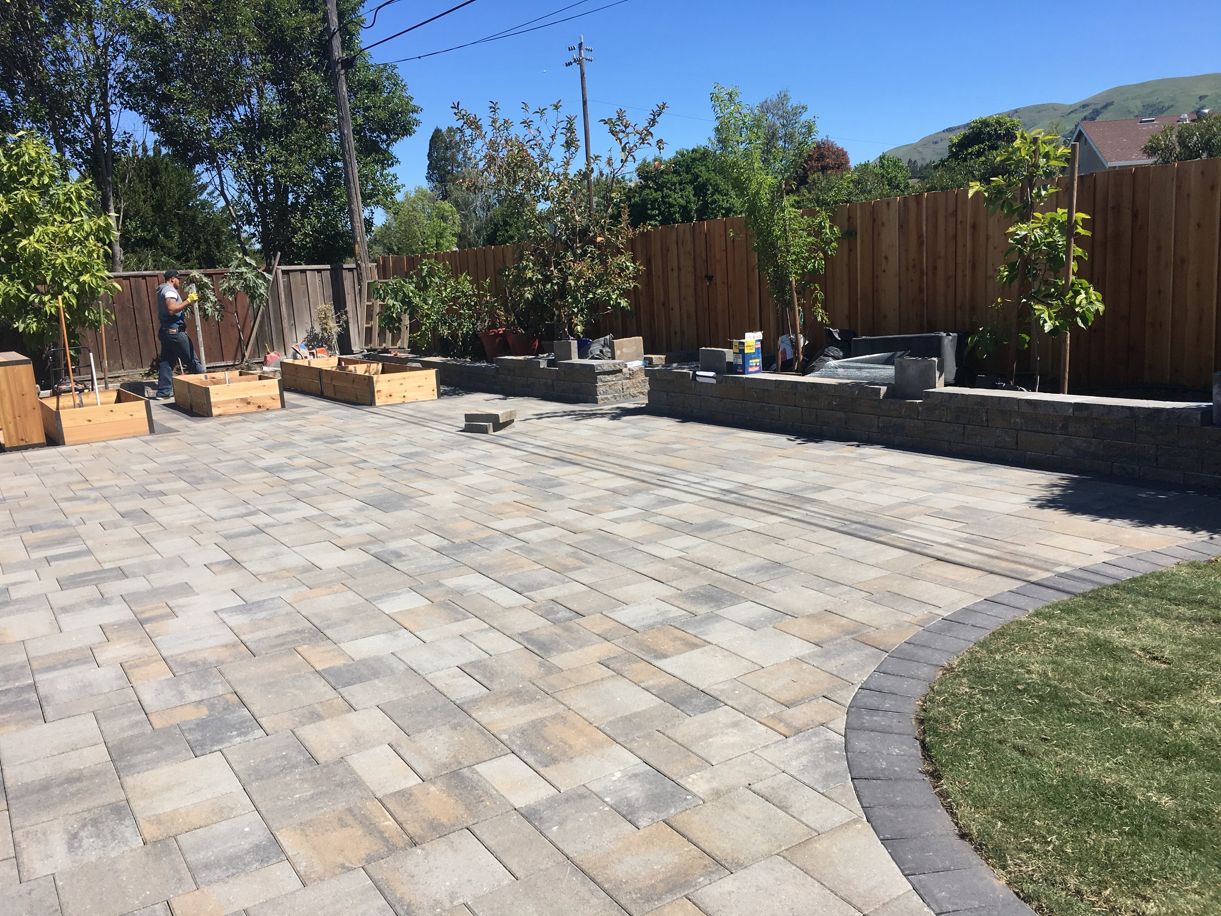 Planter Boxes, Retaining Walls, New Paver Patio, we can do it all.