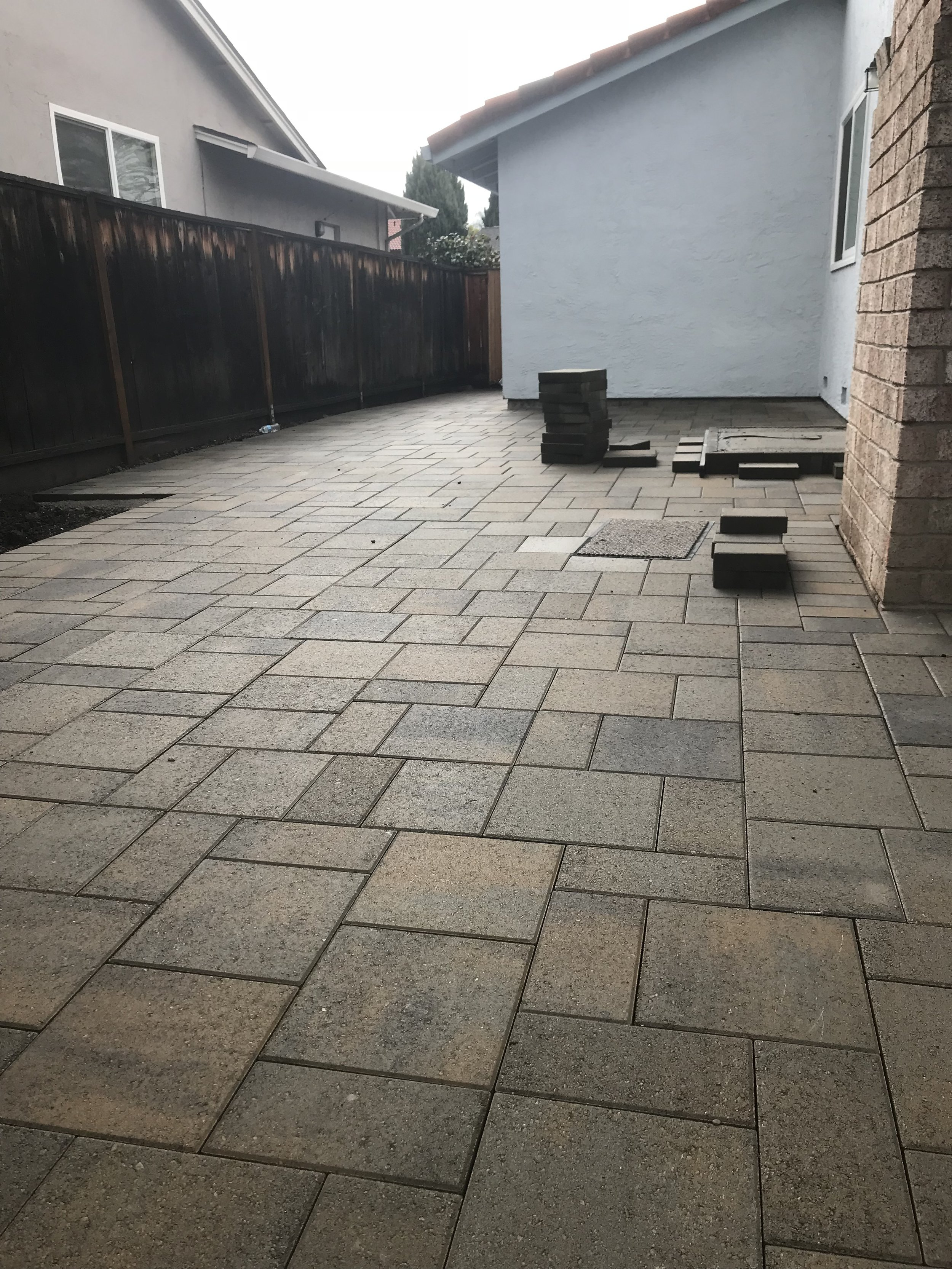 The Belgard Catalina Grana brings you the smallest gap between each paver.