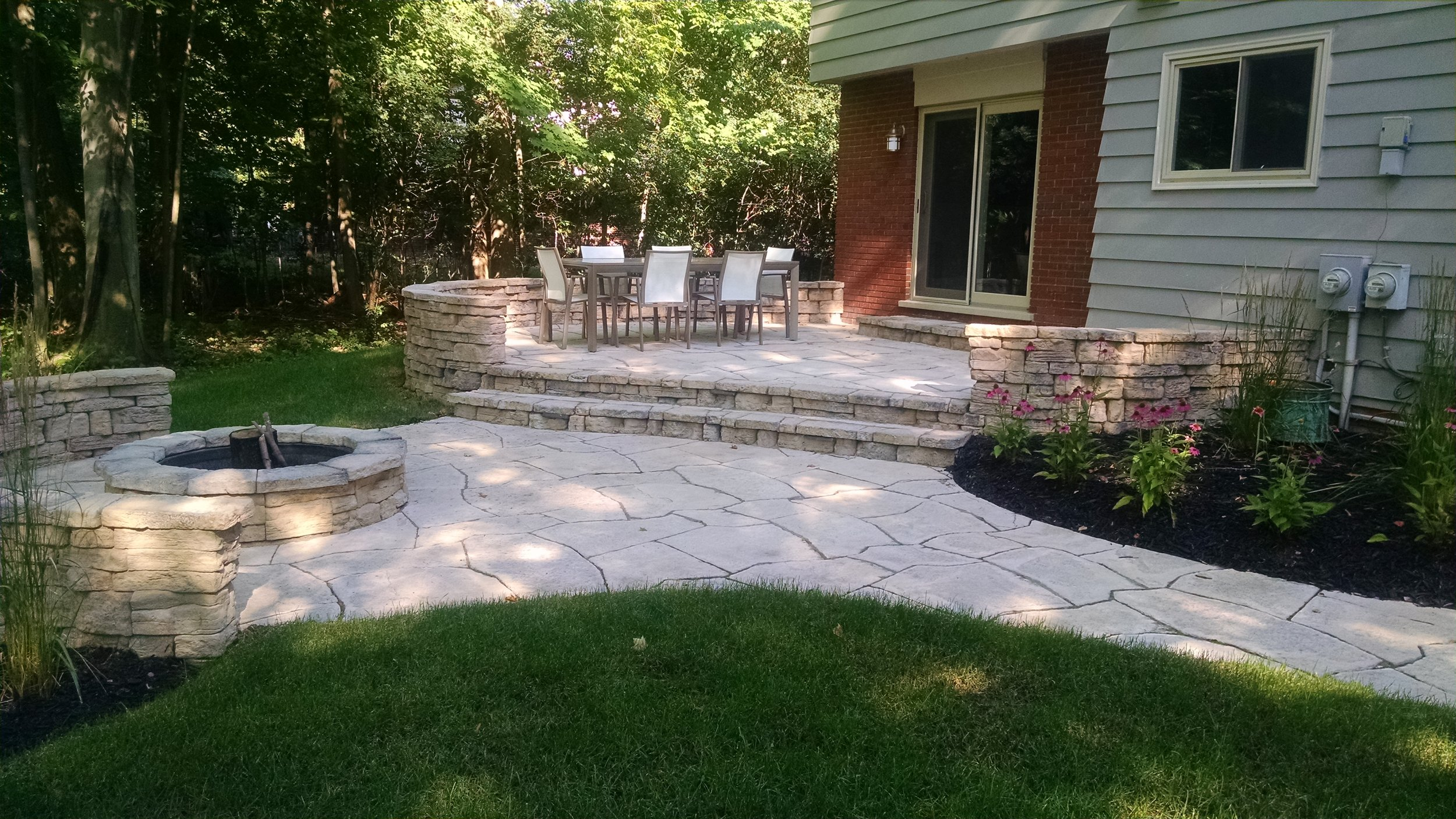 We can also do flagstones!