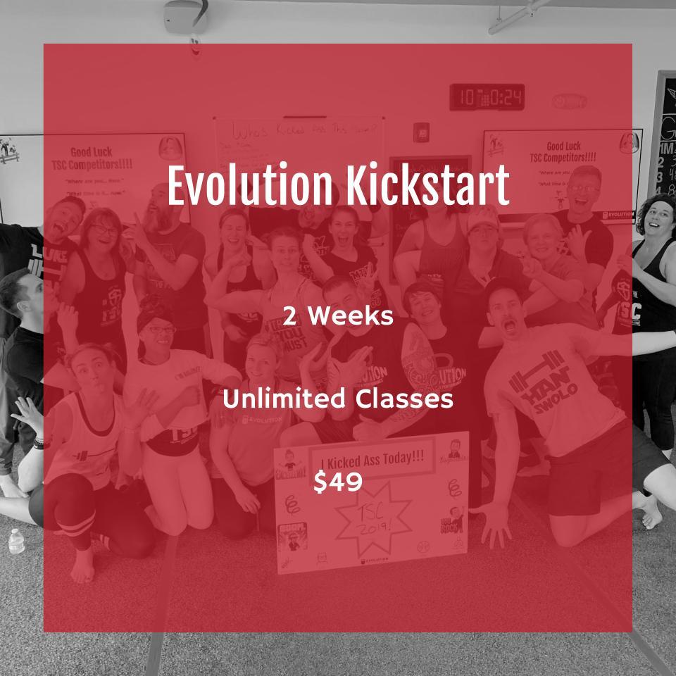Total Body Workout | Evolution Kickstart