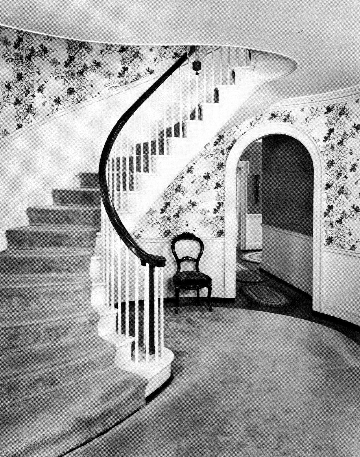 Spiral staircase, 1927.