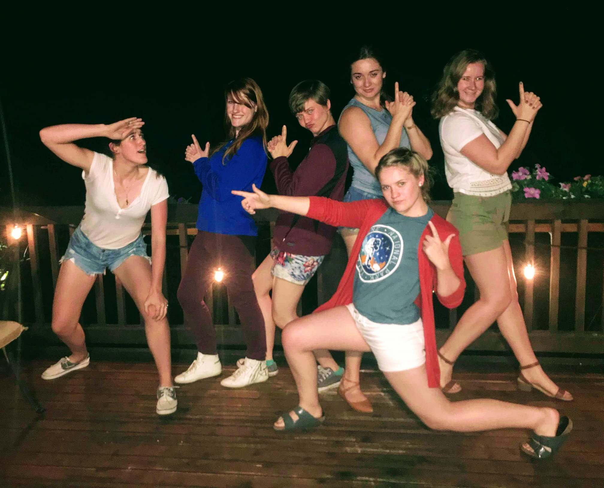 Brookie bonfire with Christine (BOF'17), Christine (BOF'17), Piper (BOF'17), Shannon (BOF'18), Esther (BOF'18) and me (BOF'18)