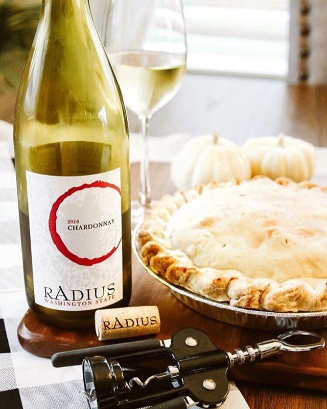 Pairs perfectly with Thanksgiving dinner prep! 📷: @sc_carson - - - - #radiuswine #wine #vinetobottle #thanksgiving #thankful #family #holidays #pie #washingtonwine #welcometowashington #winetime #november #fall #autumn #friendsgiving #fall