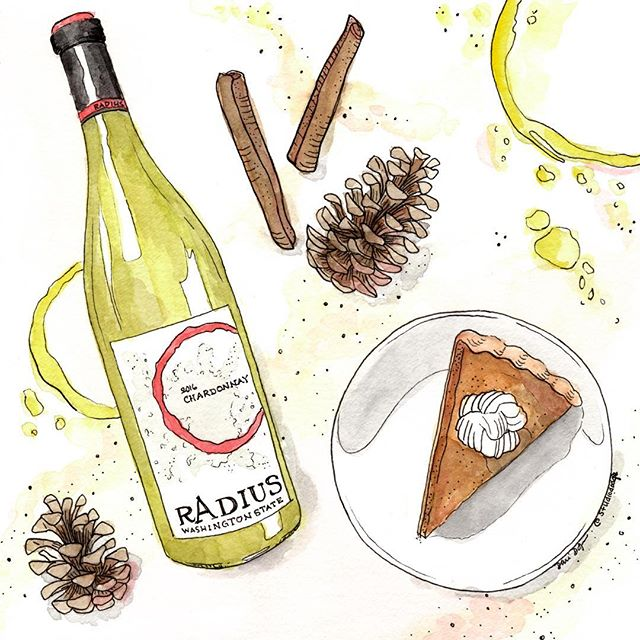 Happy Thanksgiving from Radius Wine! We are thankful for great food, amazing wine and even better friends and family. Cheers! 📷: @studiododge - - - - #radiuswine #wine #vinetobottle #thanksgiving #thankful #family #holidays #pie #washingtonwine #welcometowashington #winetime #november #fall #autumn #friendsgiving #cheers