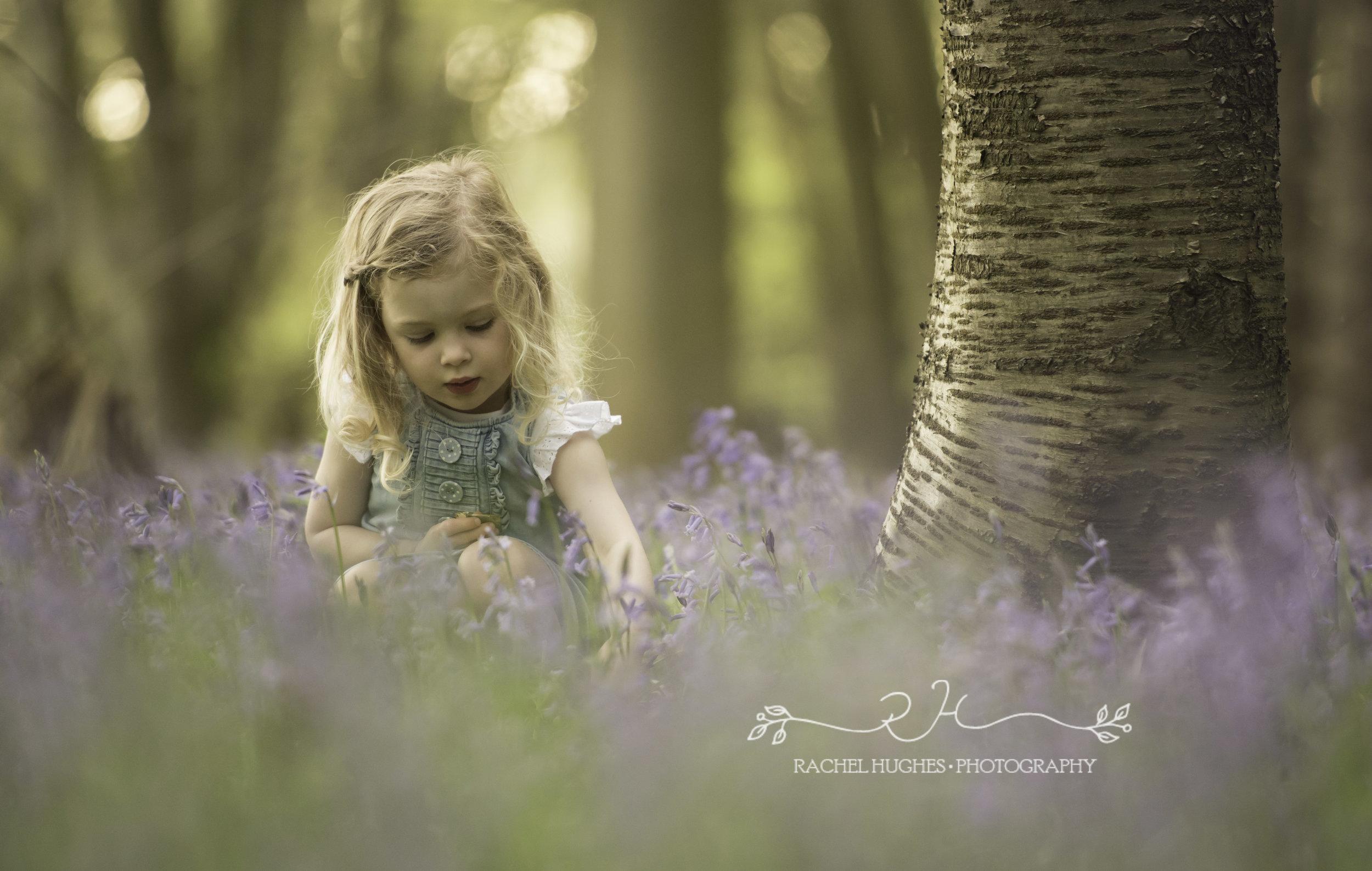 Henley family photoshoot - girl in bluebells.jpg