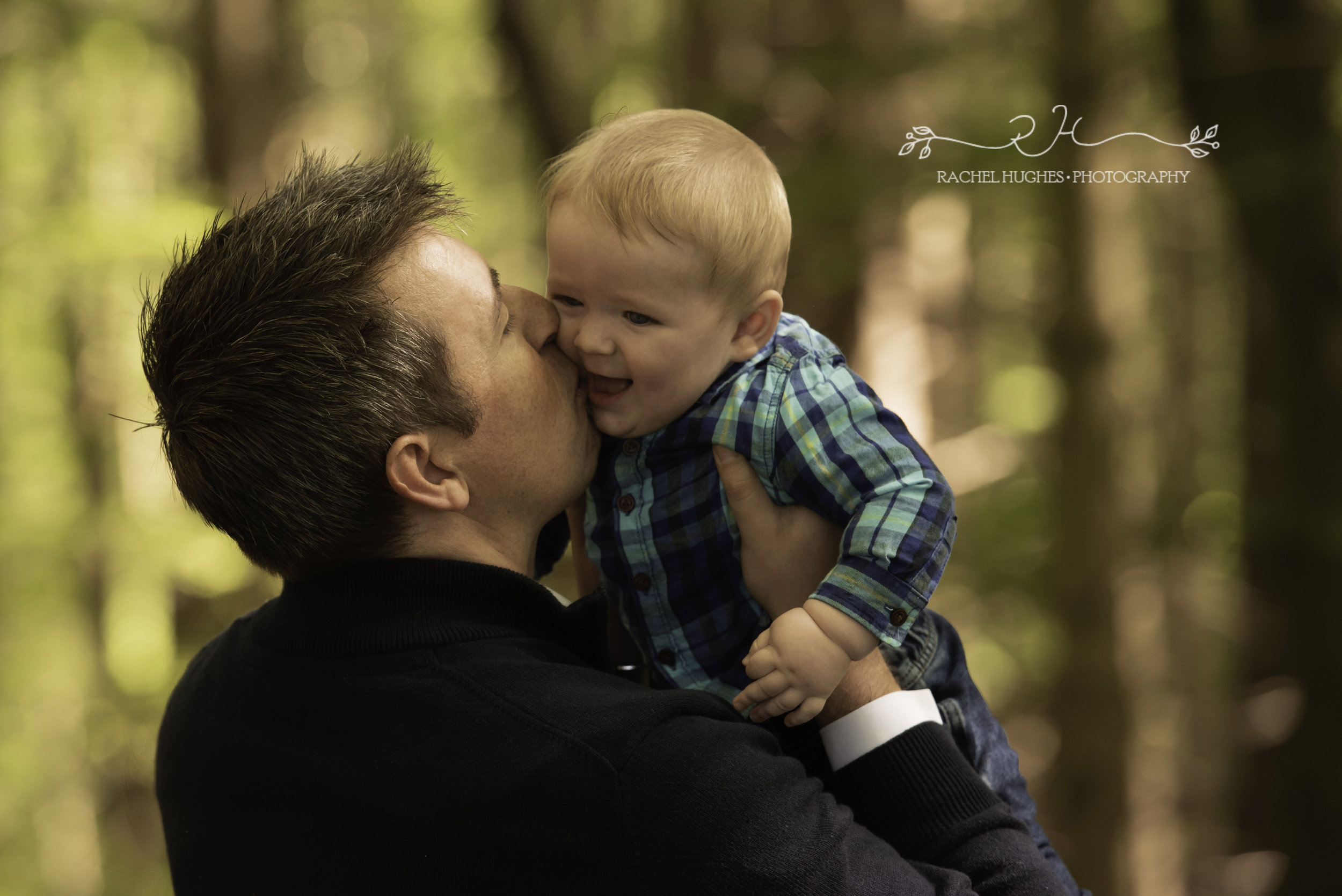 Daddy and baby photoshoot in Henley-on-Thames