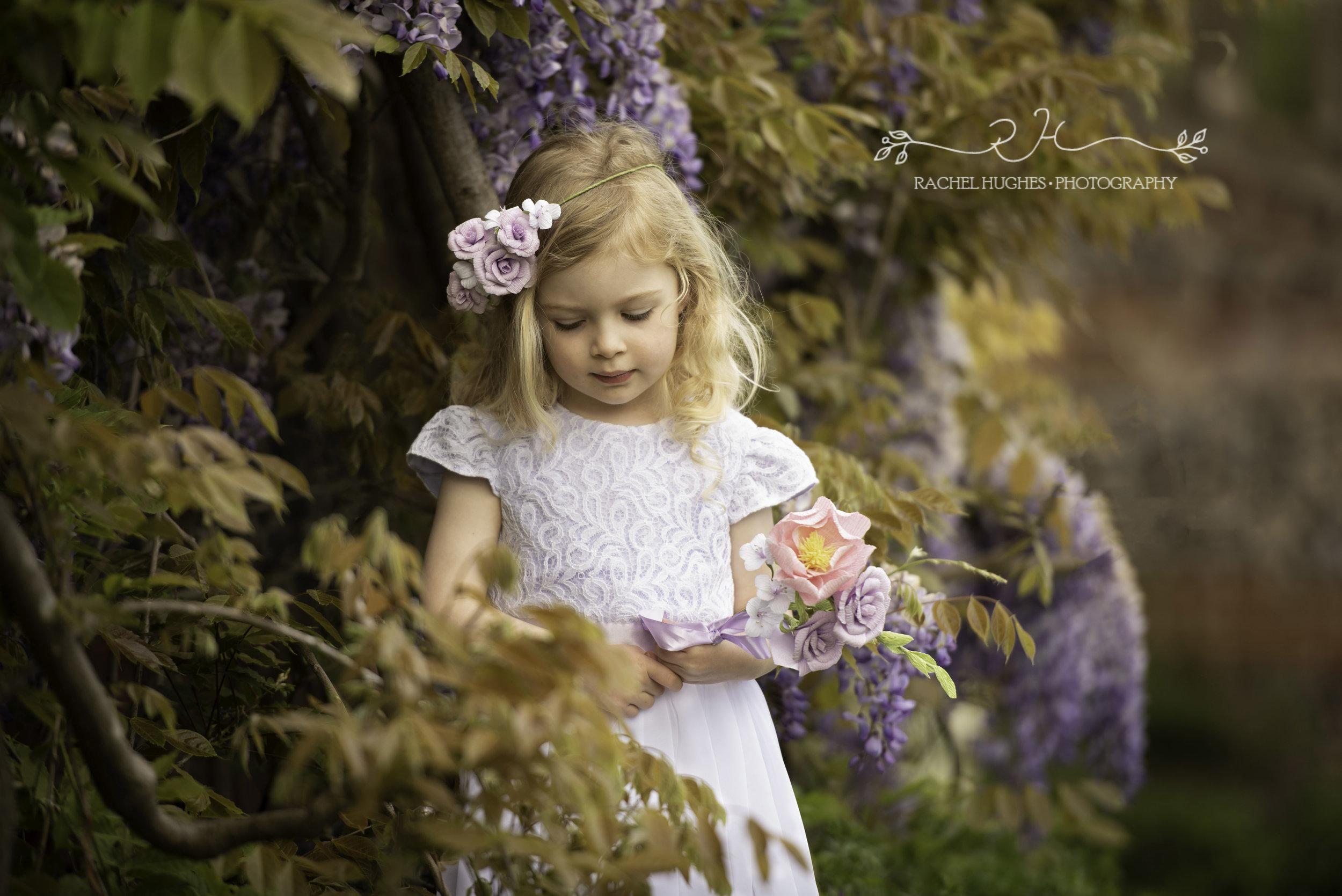 Flowergirl photoshoot Henley-on-Thames